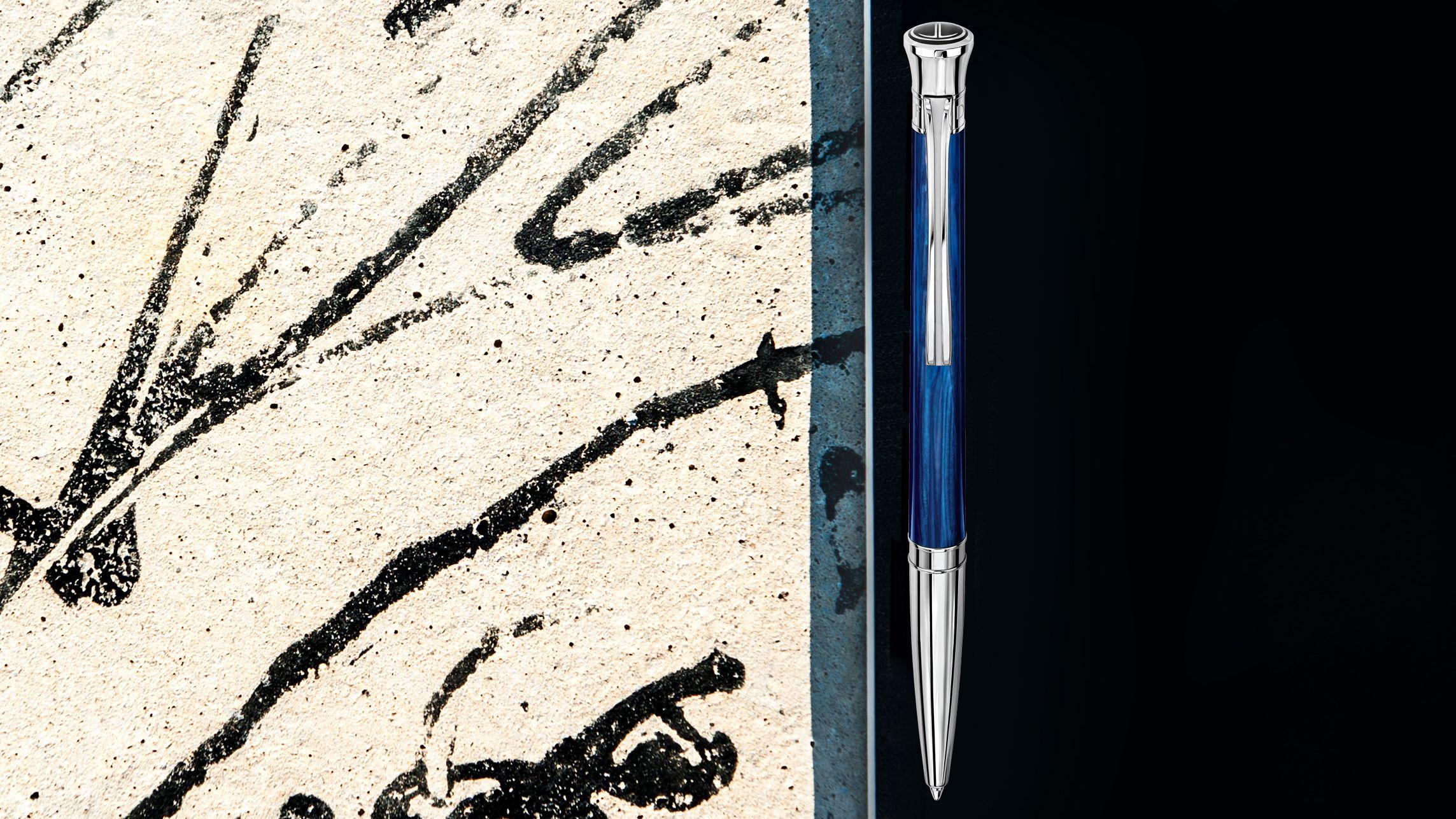 DAVIDOFF - Blue VENICE ballpoint pen