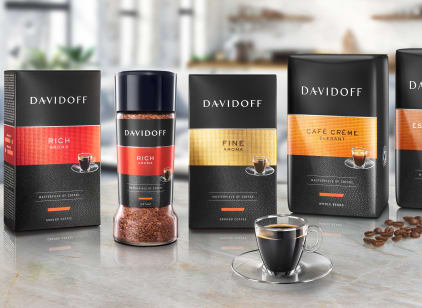 DAVIDOFF coffee line