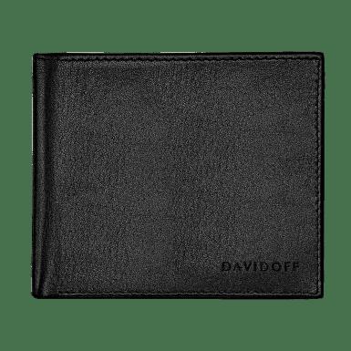 ESSENTIALS Wallet 6CC + 2 Pockets - Black