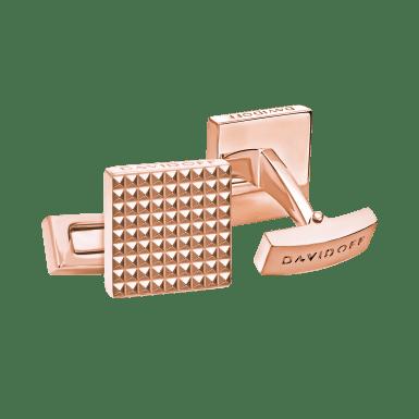 PARIS Cufflinks Square - Rose Gold