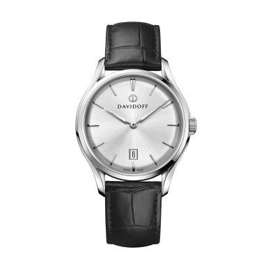 ESSENTIALS No. 1 Silver / Leather