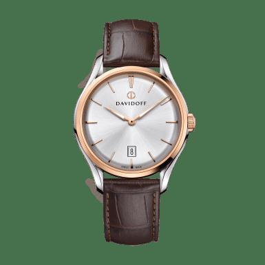 ESSENTIALS No. 1 Silver - Bicolor / Leather