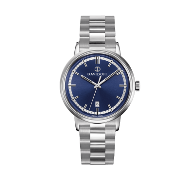 ESSENTIALS No. 2 Blue - Silver / Bracelet