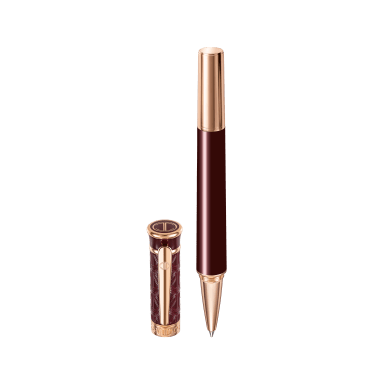 ZINO Rollerball - Rose Gold - Red