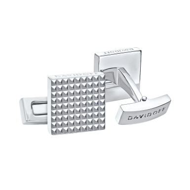 PARIS Cufflinks Square - Rhodium