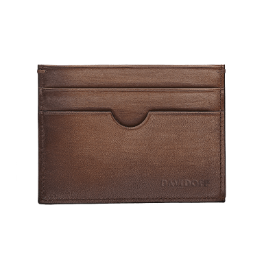 DAVIDOFF – Wallet Venices – 4CC+1P Brown