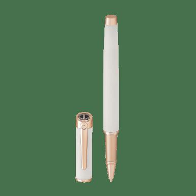 ESSENTIALS Rollerball - Rose Gold - White