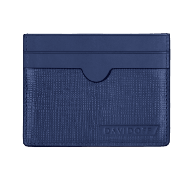 DAVIDOFF Blue Credit Card Holder