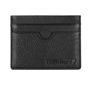 DAVIDOFF TRACES credit card holder black