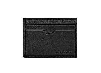ESSENTIALS Inlay bifold  - 8CC - Black