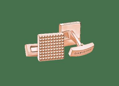 PARIS Cufflinks  - Square - Rose Gold