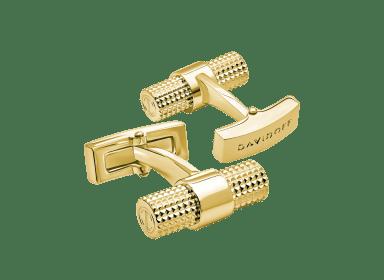 PARIS Cufflinks Barrel - Light Gold
