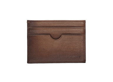 VENICE Credit Card Holder  - 4CC + 1 Pocket - Brown
