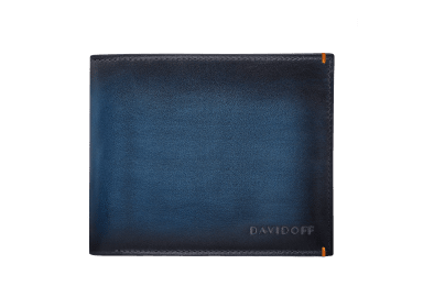 VENICE Wallet  - 6CC + 2 Pockets - Blue
