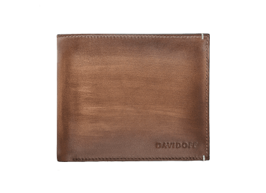 VENICE Wallet  - 8CC + 2 Pockets - Cognac
