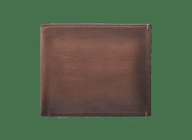 VENICE Wallet 8CC + 2 Pockets - Brown
