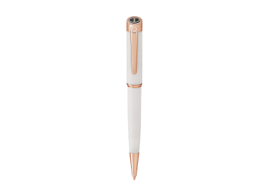 ESSENTIALS Ballpoint pen - Rose Gold - White