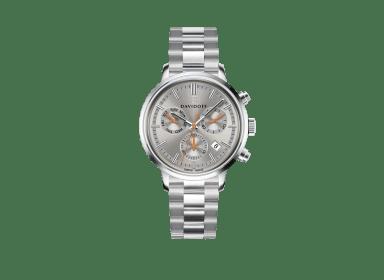 ESSENTIALS No.2 Chronograph  - Grey - Silver / Bracelet