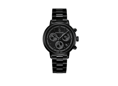 ESSENTIALS No.2 Chronograph  - Black - Black / Bracelet