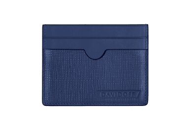 CROSSROADS wallet  - 4CC + 1P Blue