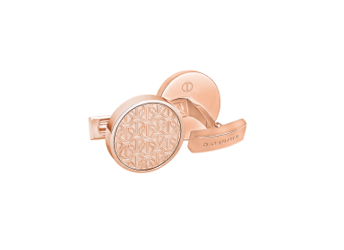 ZINO Cufflinks Round - Rose Gold