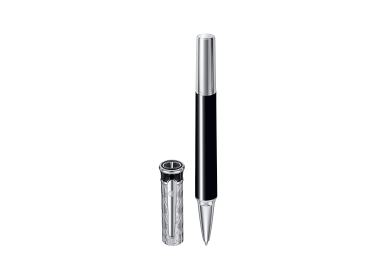 ZINO Rollerball - Chrome - Black