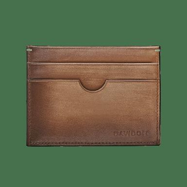 DAVIDOFF – Wallet Venices – 4CC+1P Cognac