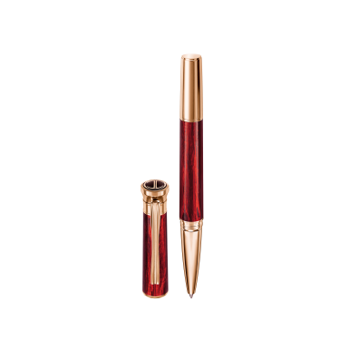 VENICE Rollerball - Rose Gold - Red