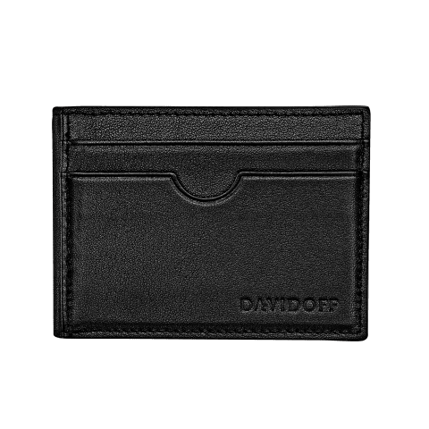 ESSENTIALS Inlay bifold 8CC - Black