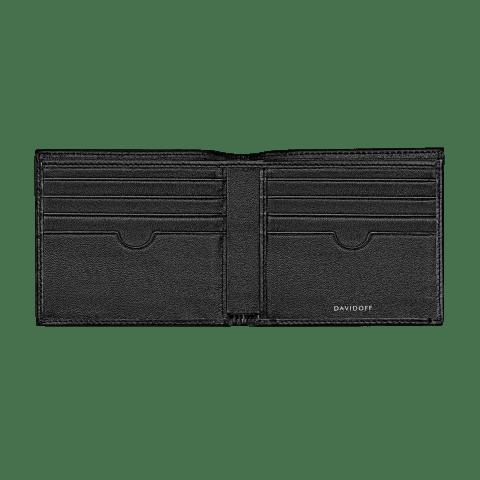 ESSENTIALS Wallet 8CC + 2 Pockets - Black