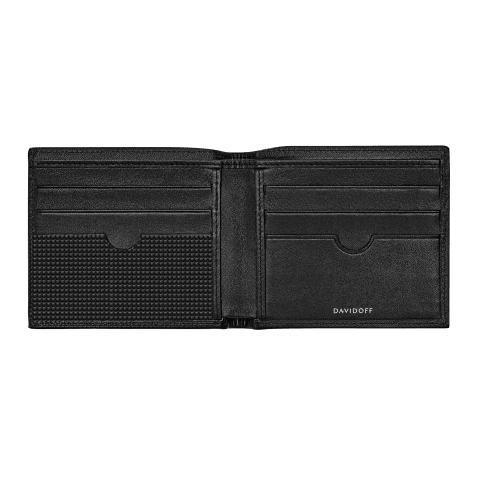 PARIS Wallet 6CC + 2 Pockets - Black
