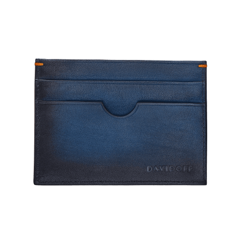VENICE Credit Card Holder 4CC + 1 Pocket - Blue