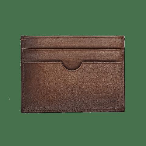 DAVIDOFF – Wallet Venices – 4CC+1P Brown