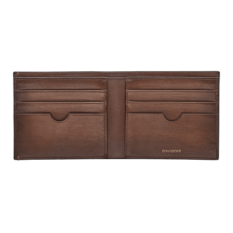 VENICE Wallet 6CC + 2 Pockets - Brown