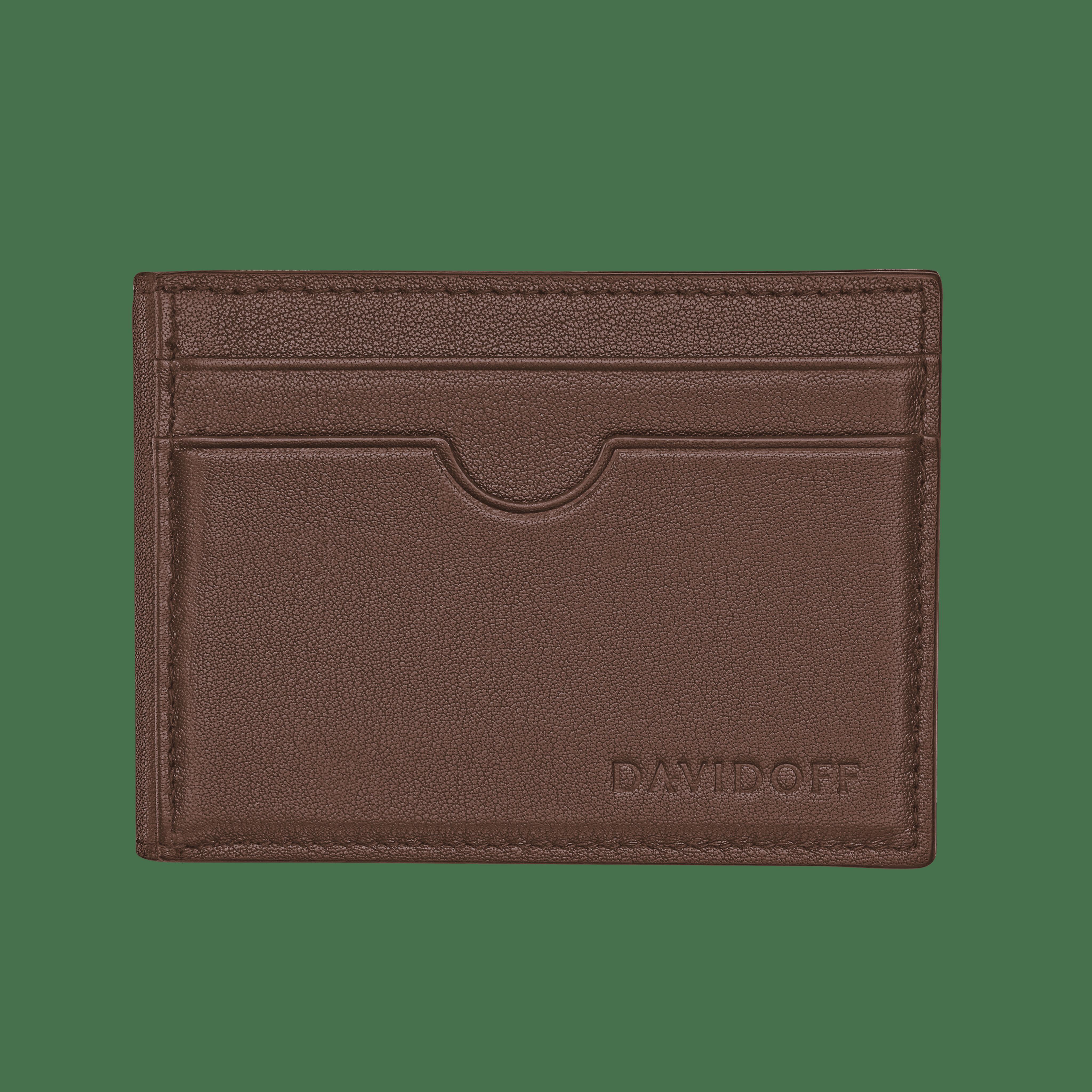 ESSENTIALS Inlay bifold 8CC - Brown
