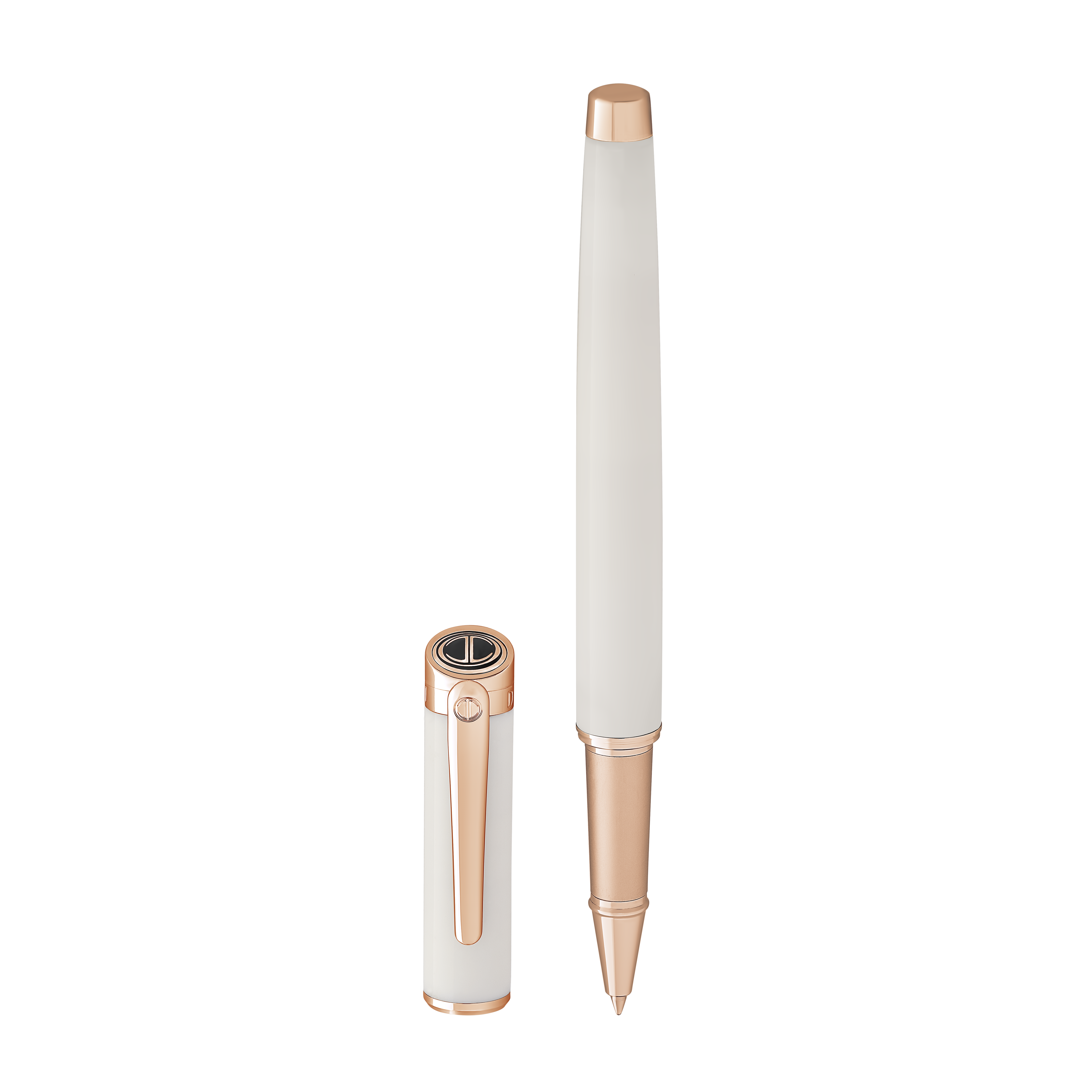 ESSENTIALS Rollerball - Rose Gold - White