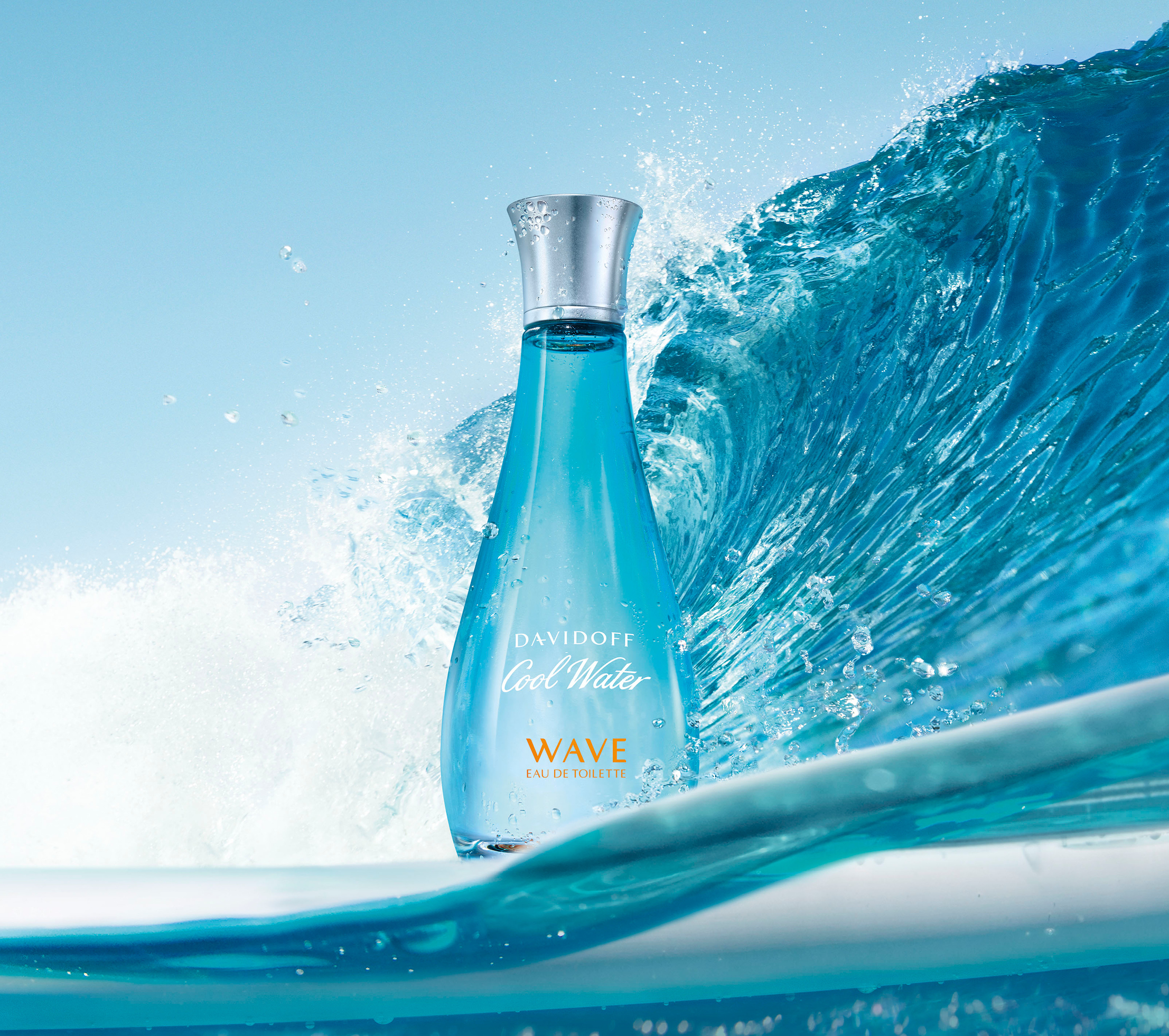 Cool Water Wave Eau De Toilette Davidoff