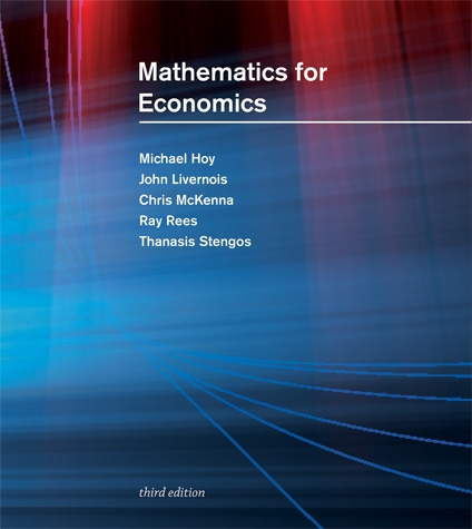 [PDF] - Mathematics for Economics Ebook