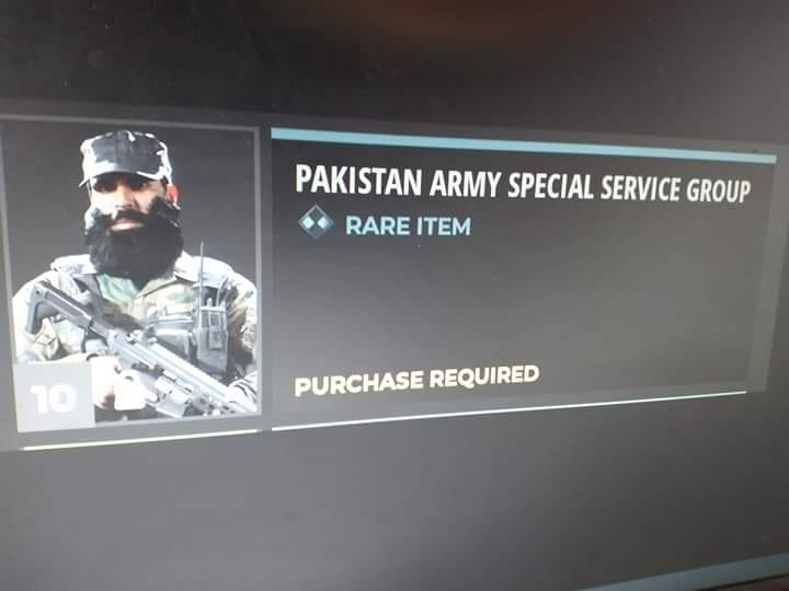 Call of Duty Recognizes Pakistan's Elite SSG Commandos with Exclusive Skin 3