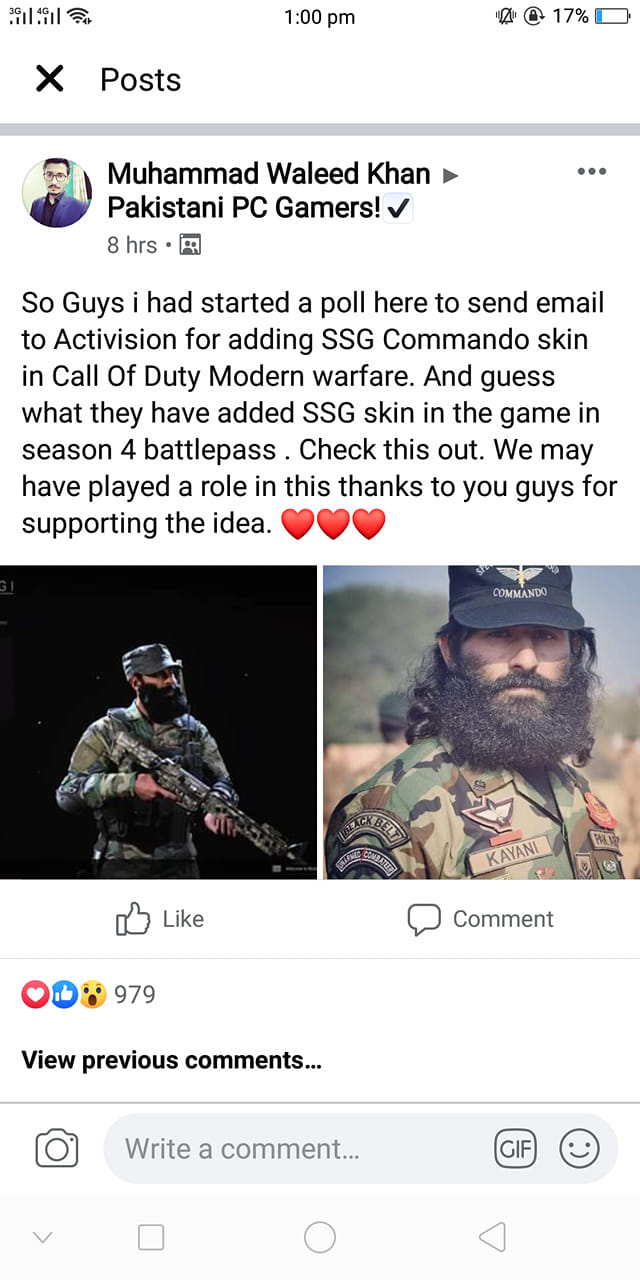 Call of Duty Recognizes Pakistan's Elite SSG Commandos with Exclusive Skin 6