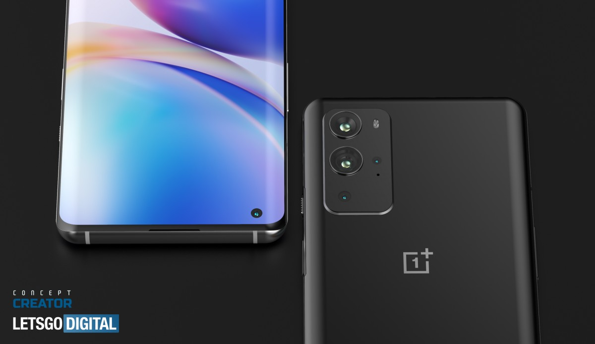 OnePlus 9 and 9 Pro's New 3D Renders Reveal Samsung Galaxy Note-Like Rear Cameras 1