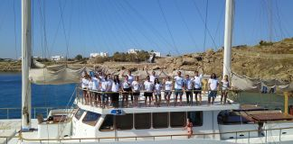 the ultimate team event - zizoo goes sailing in the Mediterannean