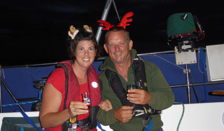 What is it like to spend Christmas on board?