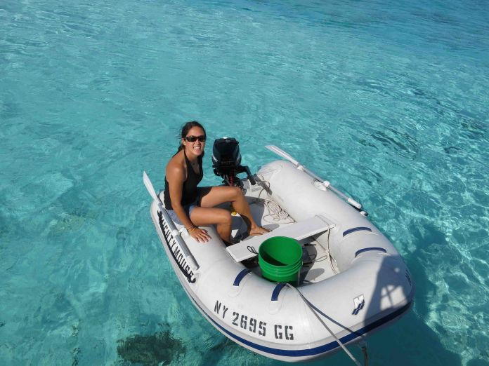 sailing in the bahamas with Zizoo