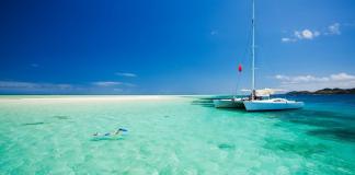 sailing Caribbean on a catamaran Zizoo
