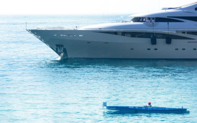 Another way to enjoy the sun while sailing – a solar boat