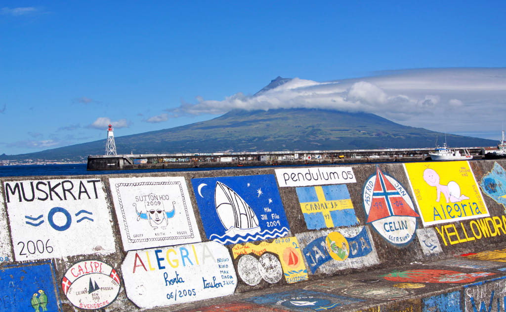 Segeln auf den Azoren.
