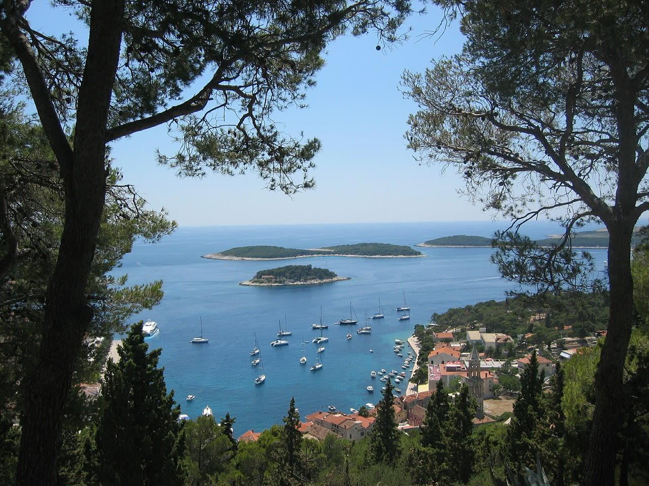 Segeln in Dalmatien.