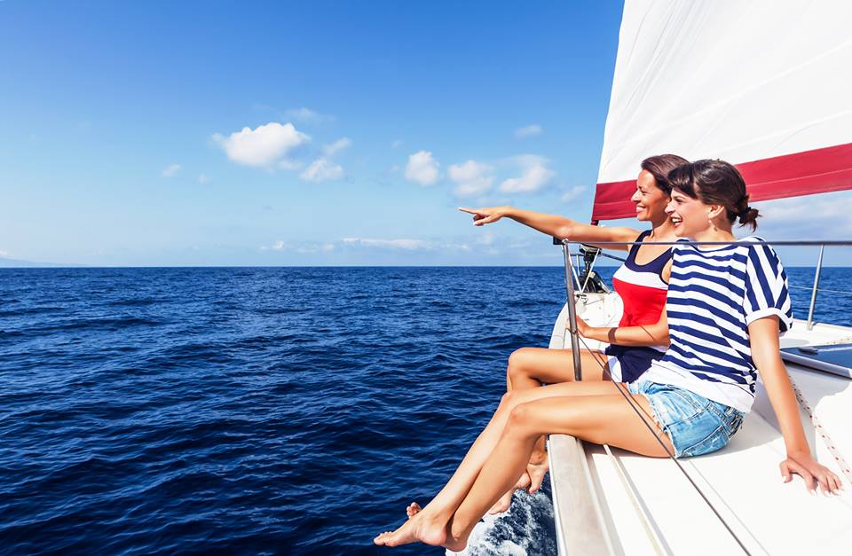 top 5 spring sailing destinations