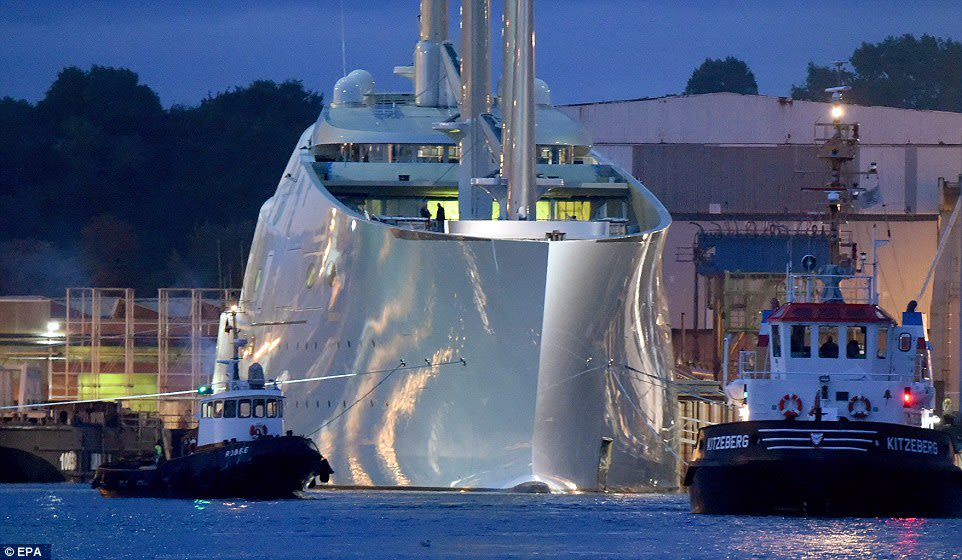 super sailing yacht A luxury sailing